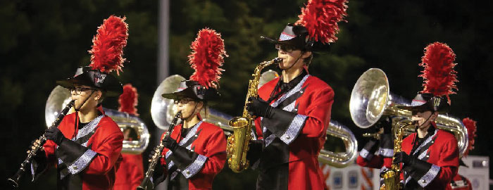 Legend of the Warrior Marching Competition Taking Place this Saturday
