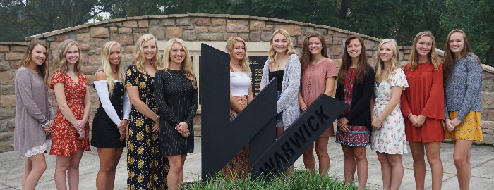 2018 Homecoming Court Announced for Warwick High School