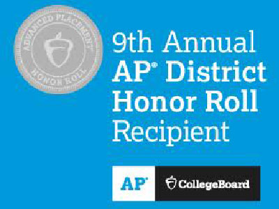 WSD Placed on the College Board's 9th Annual AP District Honor Roll