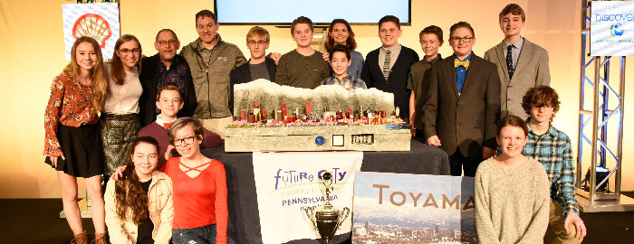 WMS Future City Team Takes 1st Place at National Championship